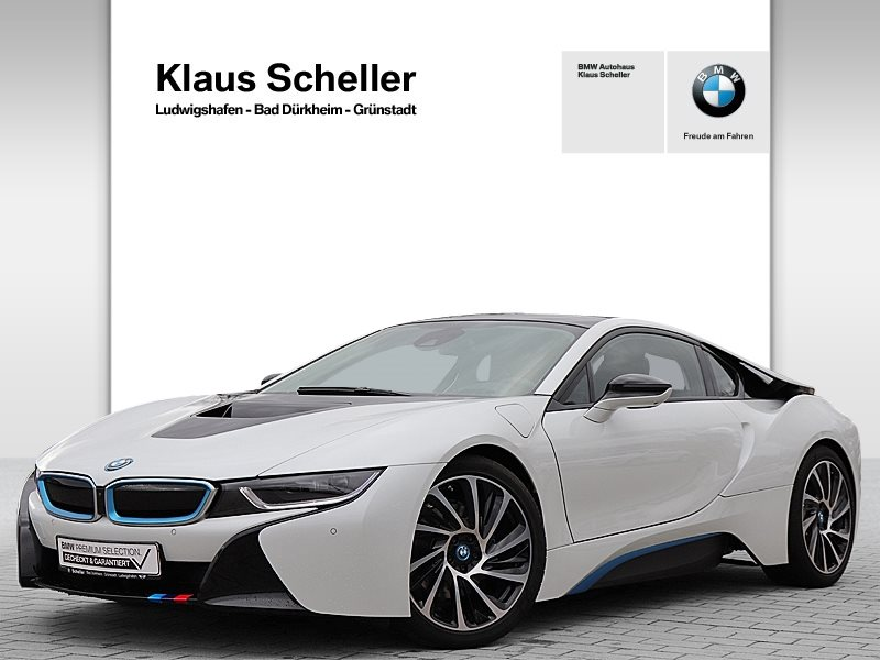 BMW i8 HK HiFi LED Navi Prof. el. Sitze Shz PDC, Jahr 2017, Hybrid