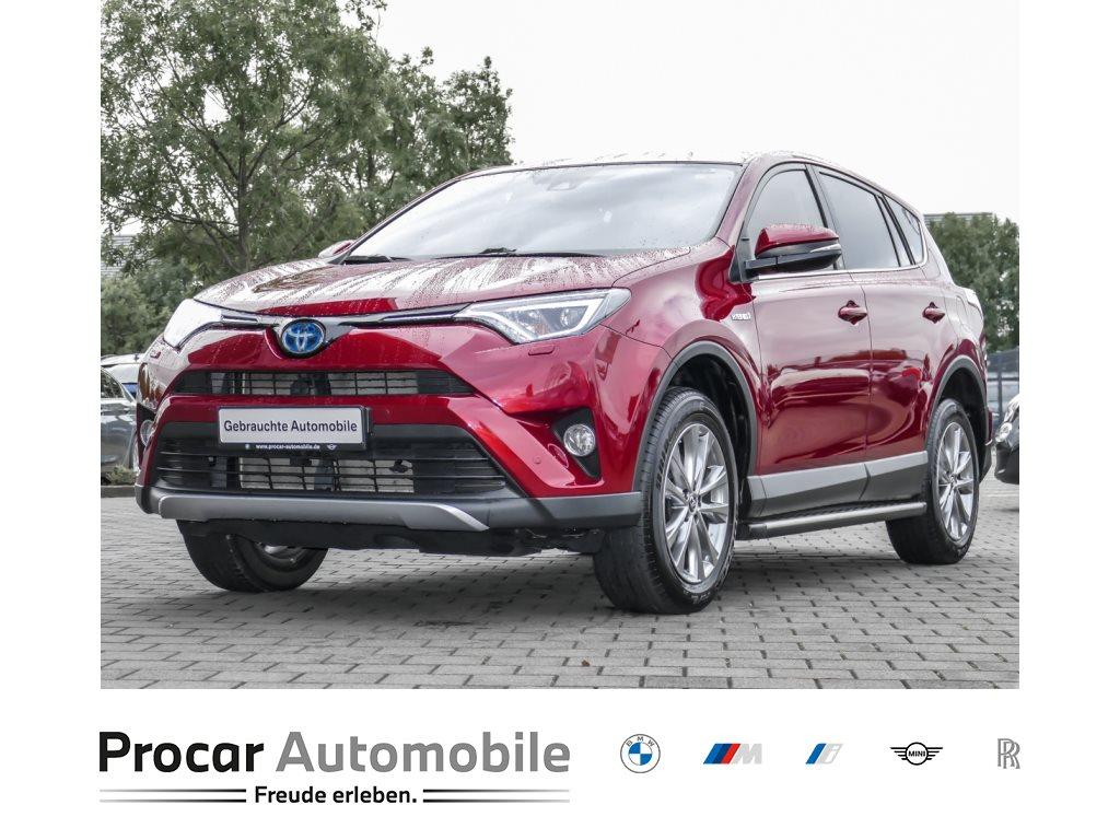 Toyota RAV 4 2.5 4x2 Hybrid Team Deutschland LED PDC, Jahr 2018, Hybrid