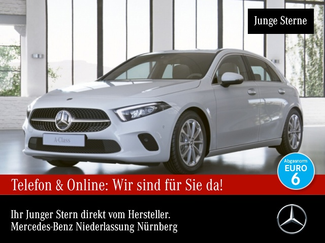 Mercedes-Benz A 180 Progressive Navi Premium LED Kamera PTS Temp, Jahr 2019, Benzin