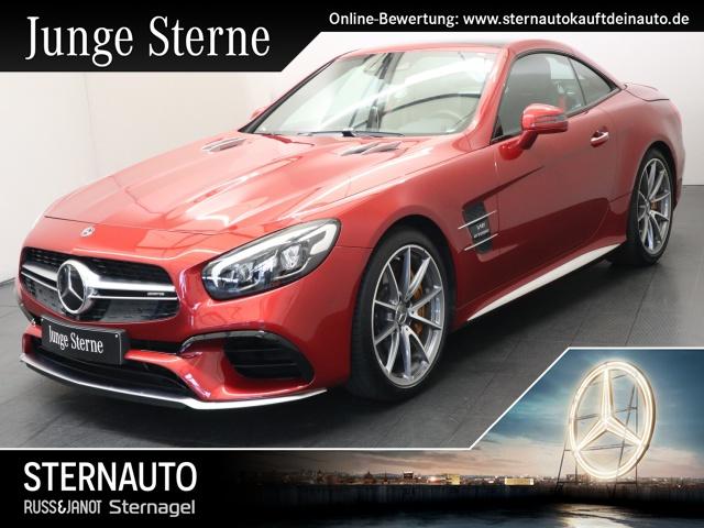 Mercedes-Benz SL 63 AMG Drivers Keramik BO MagicSky Sitzklima, Jahr 2018, petrol