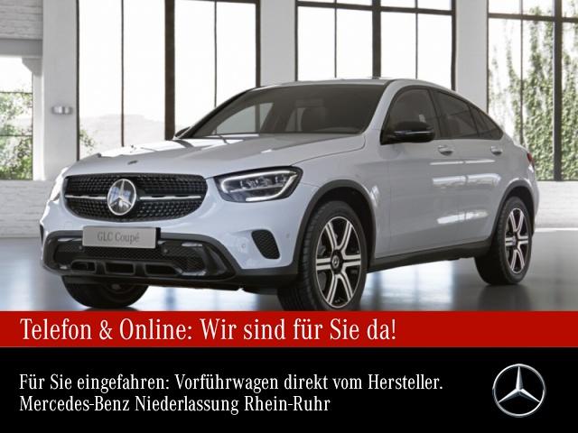 Mercedes-Benz GLC 200 4M Coupé Night+AHK+LED+Kamera+Keyless+9G, Jahr 2021, Benzin