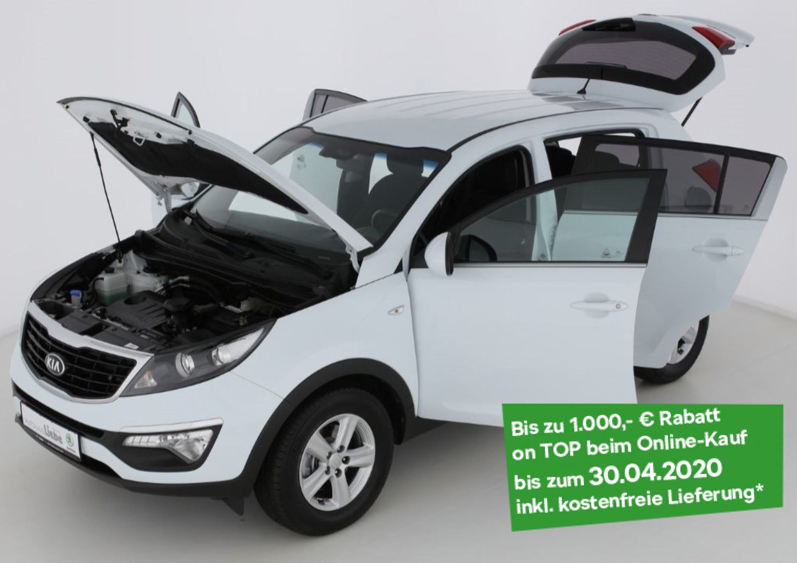 Kia SPORTAGE 2WD KLIMA ISOFIX TEMPOMAT FREISPRECHuvm, Jahr 2015, Diesel