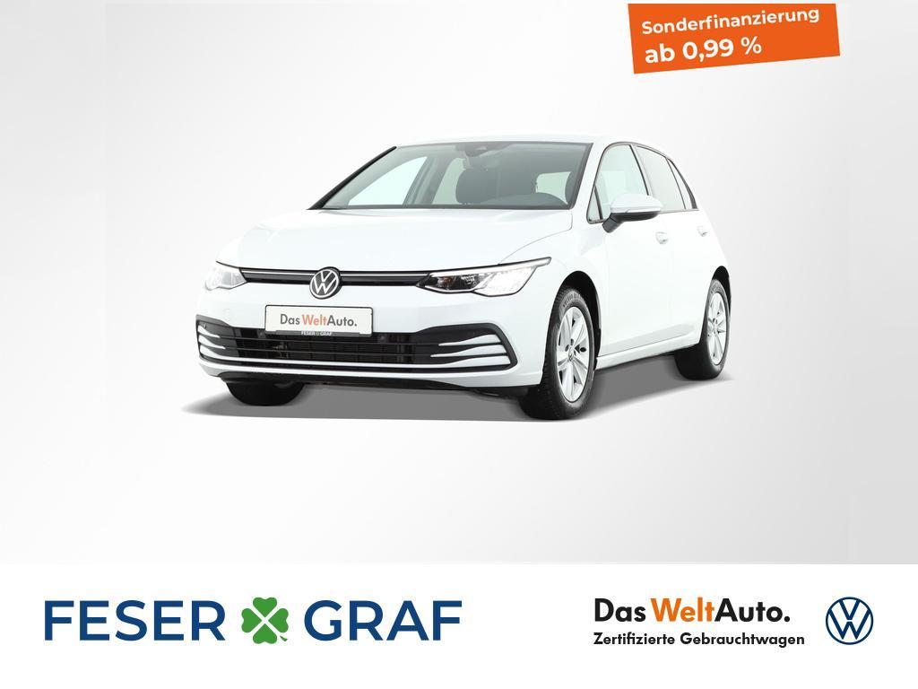 Volkswagen Golf 1.5 TSI Life LED ACC Naviagtionssystem, Jahr 2020, Benzin