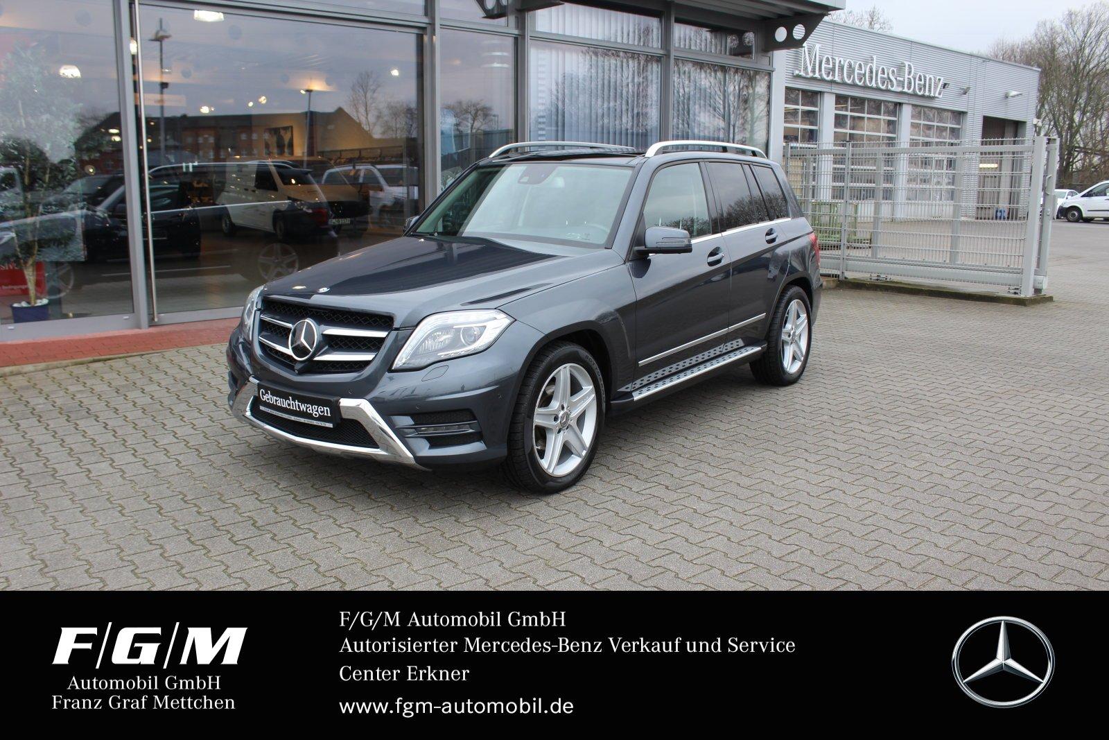 Mercedes-Benz GLK 350 CDI AMG/COM/ILS/360°/Pano/AHK/H&K/Distr., Jahr 2014, Diesel