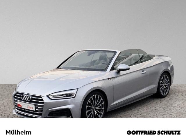 Audi A5 Cabrio sport 2.0 TFSI quattro tronic LEDER KA S line, Jahr 2017, Benzin