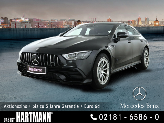 Mercedes-Benz AMG GT 43 4M+ WIDESCREEN+SITZKLI+AHK+360° KAMERA, Jahr 2018, Benzin