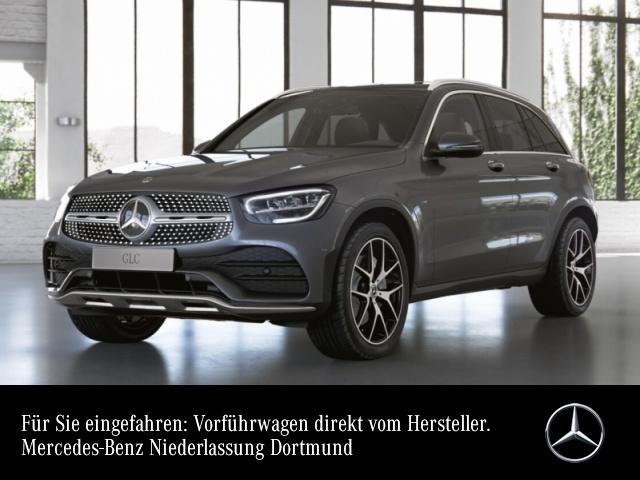 Mercedes-Benz GLC 300 de 4M AMG+Pano+AHK+LED+Fahrass+Burmester, Jahr 2021, Hybrid_Diesel