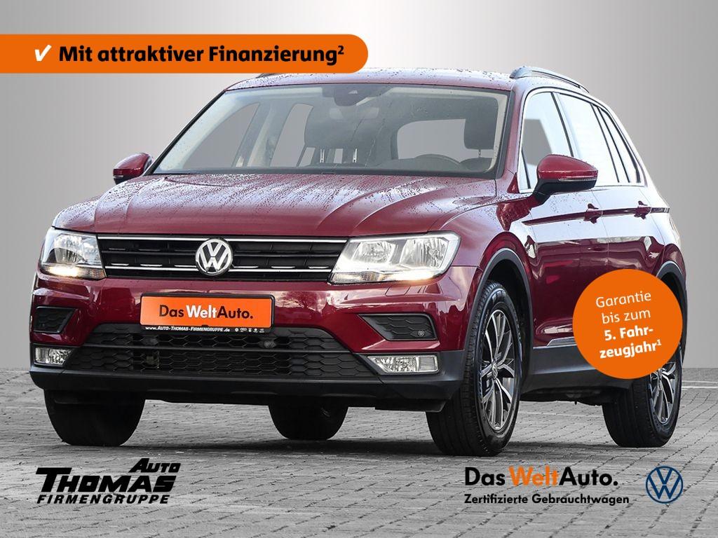 Volkswagen Tiguan Comfortline BMT 1,4 l TSI ACT 110 kW (150 PS) 6-Gang, Jahr 2017, Benzin