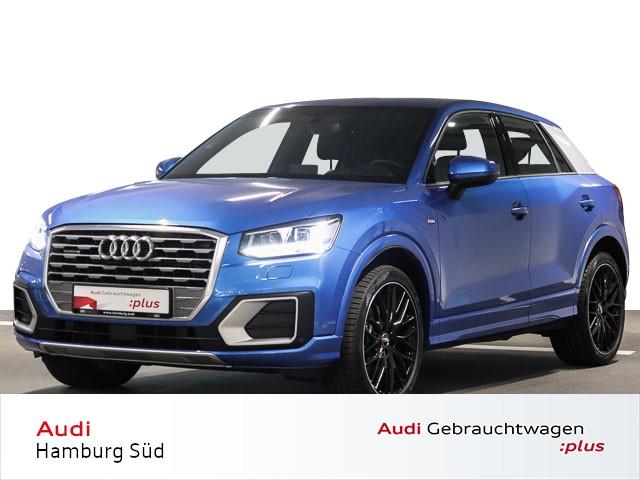 Audi Q2 40 TFSI quattro S tronic Sport S line LED/NAVI/AHK/LEDER-ALCANTARA, Jahr 2019, Benzin