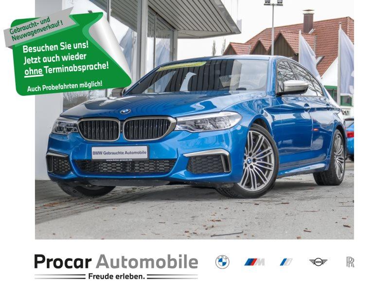 BMW M550i xDrive Limousine+ Sonderlack + LED +WLAN+ Standhzg. +Shz, Jahr 2018, Benzin