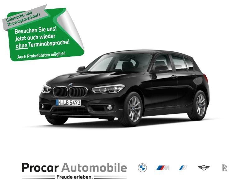 BMW 118i NAVI+LED+2-ZONEN-KLIMA+SITZHEIZUNG+TEMPOMAT, Jahr 2018, Benzin
