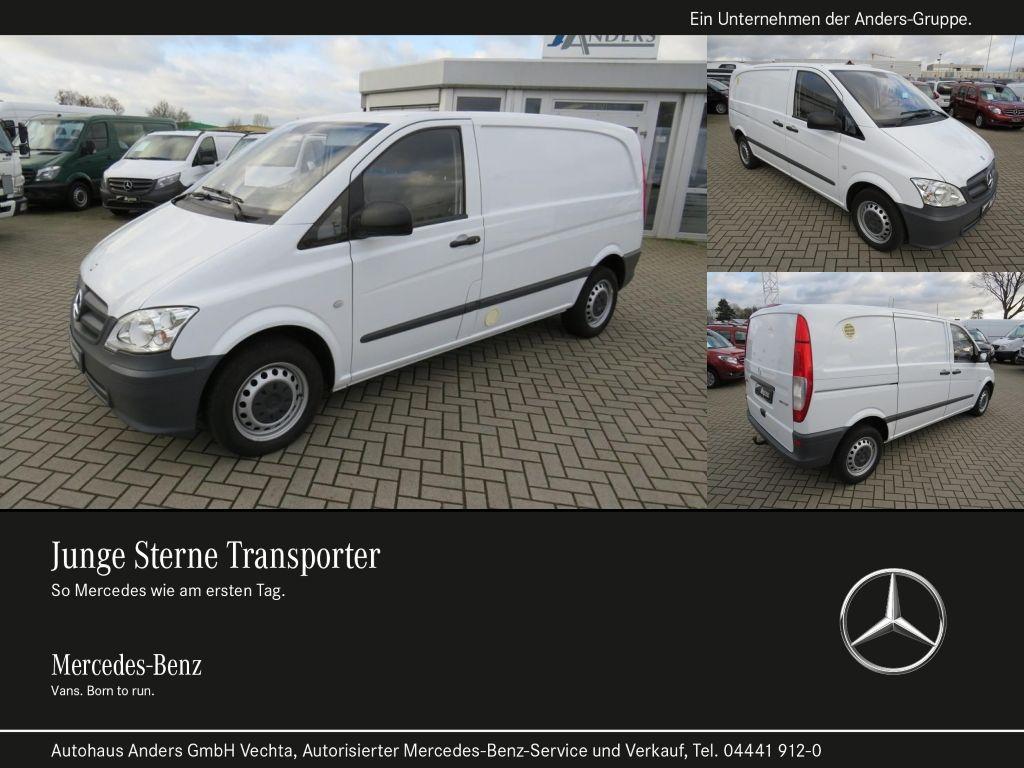 Mercedes-Benz Vito 113 CDI KA kompakt Klima*EFH*AHK*3-Sitze, Jahr 2014, Diesel