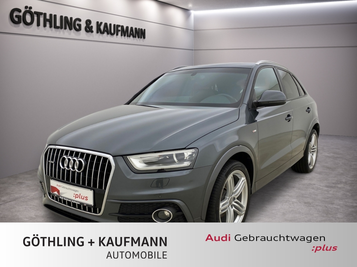 Audi Q3 2.0 TDi qu. S tro. 3x S Line 130 kW*Navi*Xeno, Jahr 2013, Diesel