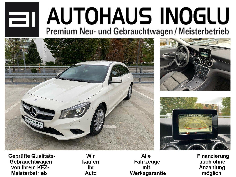 Mercedes-Benz CLA 180 Shooting Brake Aut. NAVI XEN LEDER RCAM, Jahr 2016, Benzin