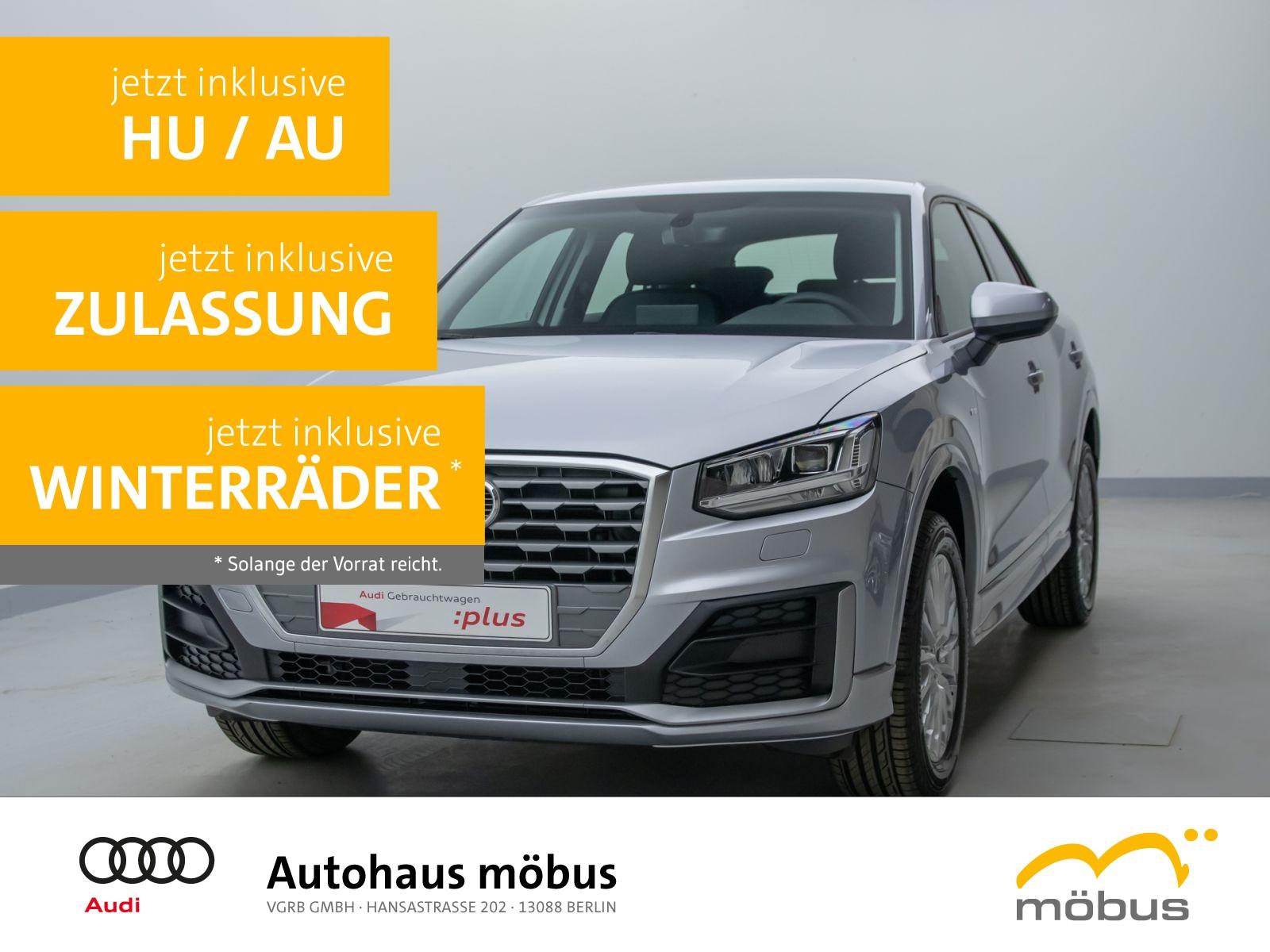 Audi Q2 35 TFSI design S-TRO*SLINE*LED*AHK*NAV*DAB*BT, Jahr 2020, Benzin
