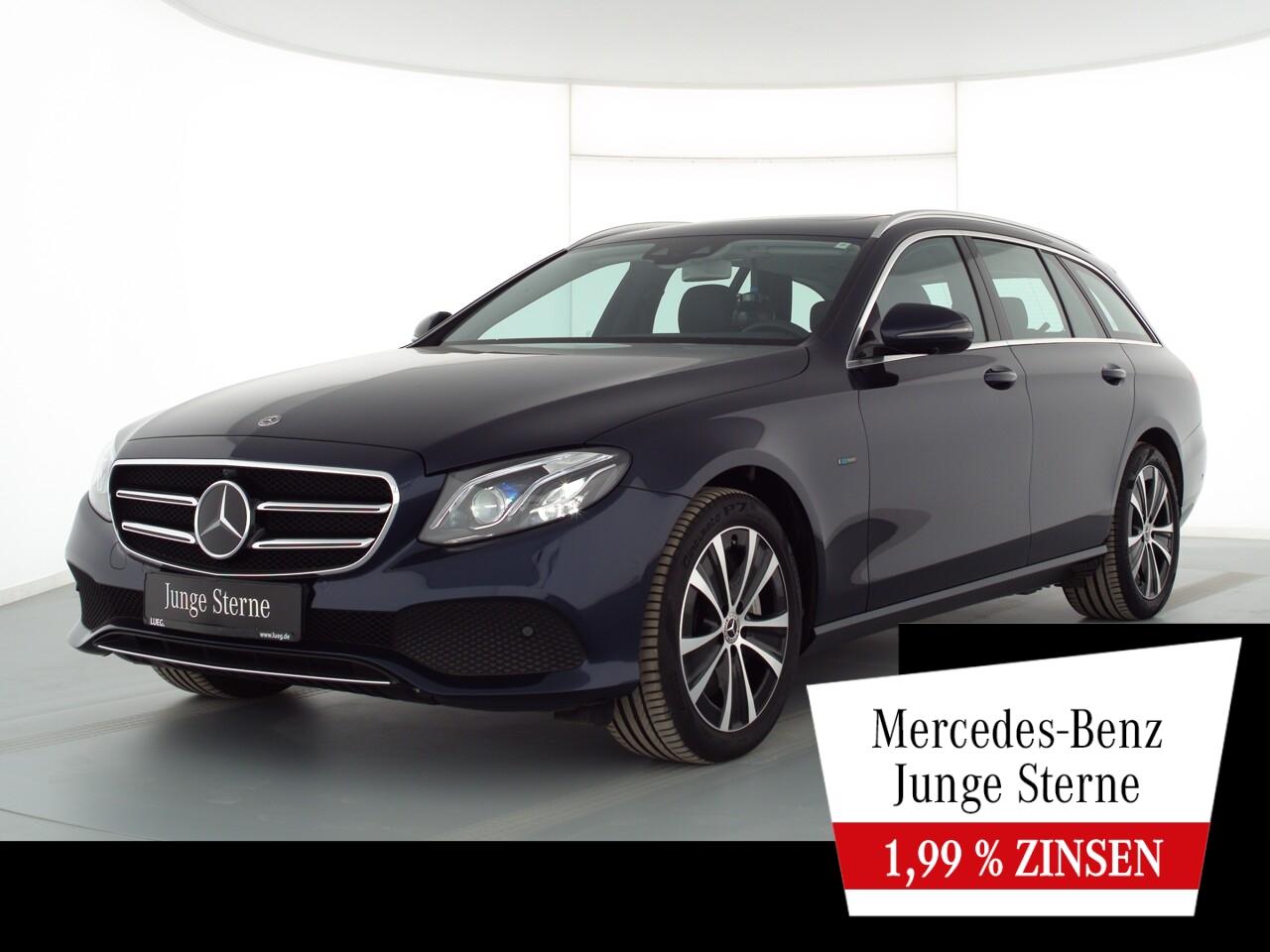 Mercedes-Benz E 300 de T Avantgarde+Navi+SHD+Mbeam+DistrP+360°, Jahr 2020, Hybrid_Diesel