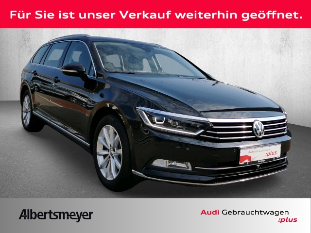volkswagen passat variant highline 2.0 tdi dsg led acc, jahr 2017, diesel