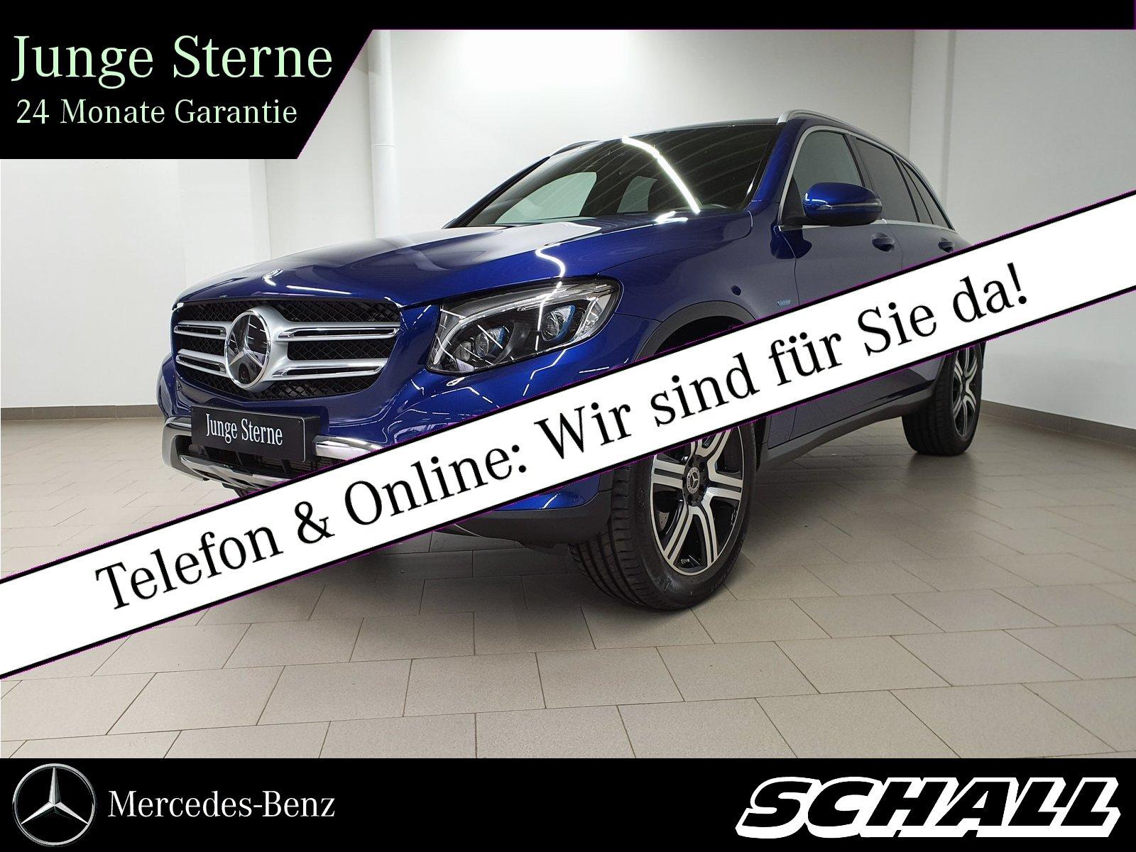 Mercedes-Benz GLC 350 e 4M PANO/DISTRONIC/LED INTELL./KAMERA, Jahr 2016, Hybrid