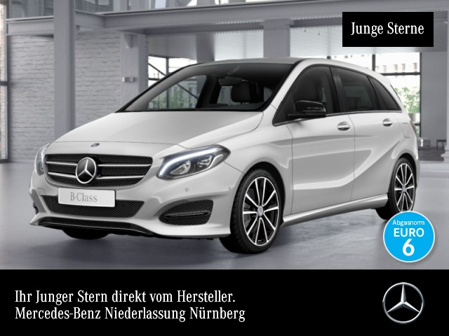 Mercedes-Benz B 250 Urban Distr+ LED AHK Night Kamera Navi Sitzh, Jahr 2016, petrol