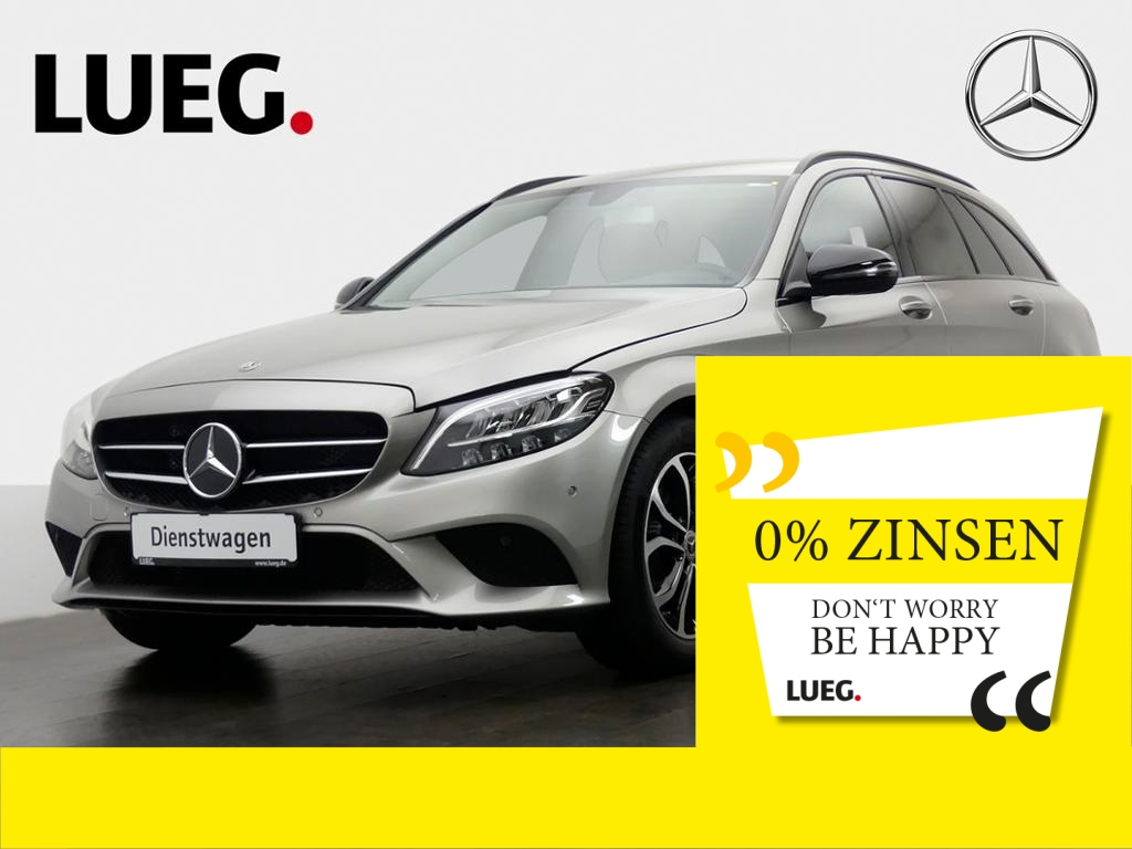 Mercedes-Benz C 160 T AVANTG.+NP45T+9G+AHK+LED+SHZ+NAVI+TEMPOM, Jahr 2019, Benzin