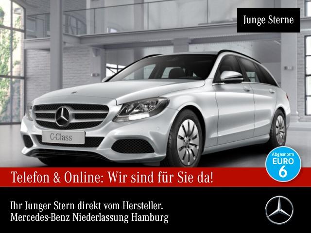 Mercedes-Benz C 200 d T Navi PTS 9G Sitzh Sitzkomfort Temp, Jahr 2017, Diesel