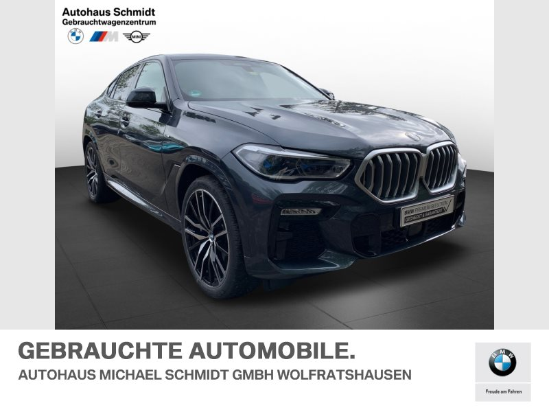BMW X6 xDrive40i 22 Zoll*M Sportpaket*Panorama*Standheizung*, Jahr 2020, Benzin