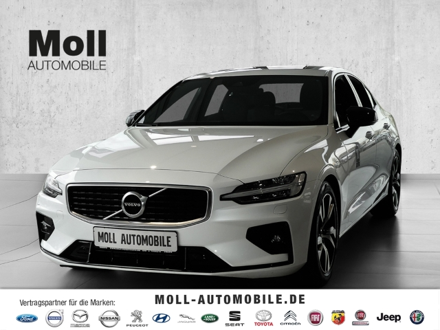 Volvo S60 T4 Geartronic R-Design Panorama +MY20+, Jahr 2020, Benzin