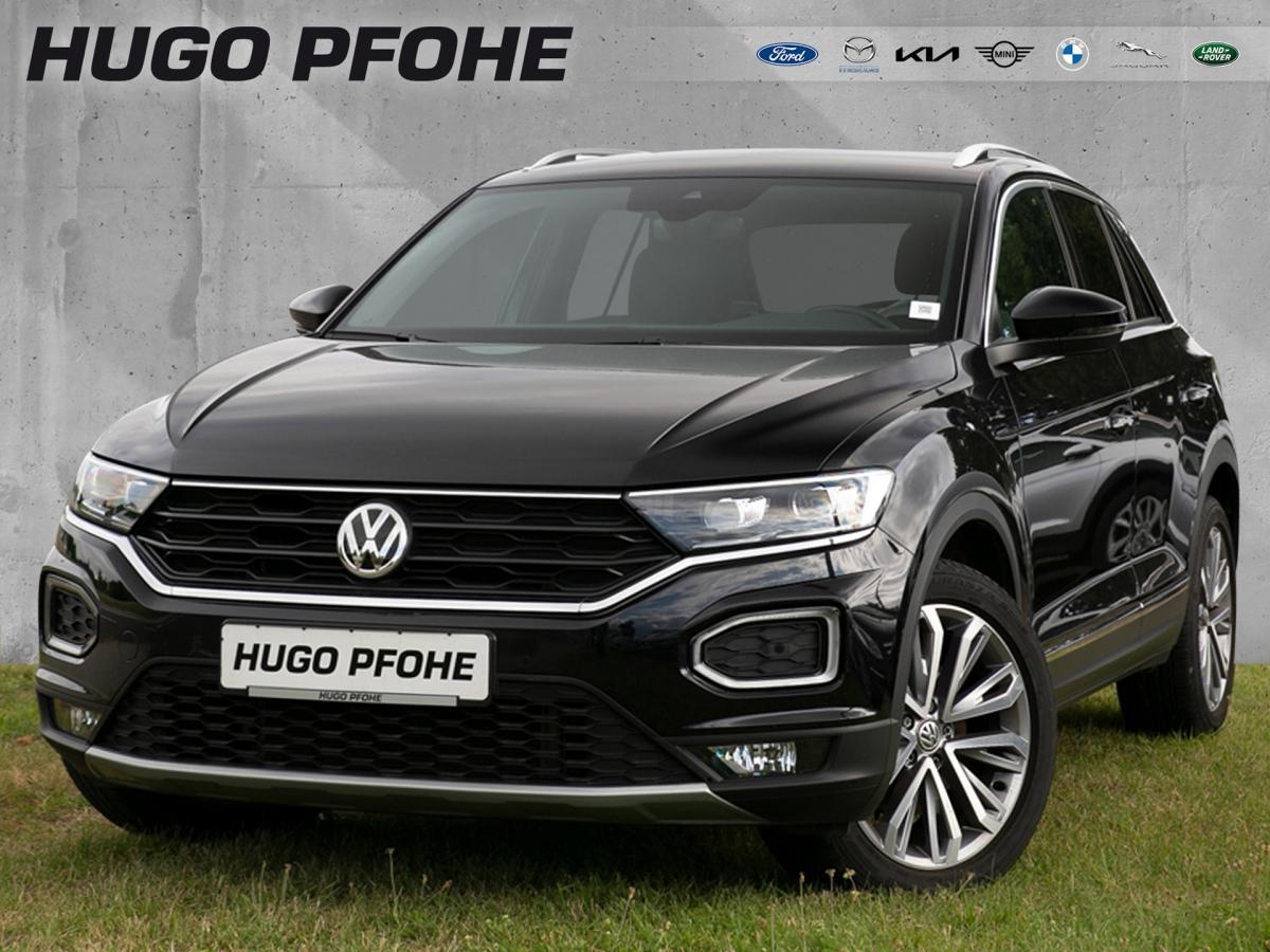 Volkswagen T-Roc Sport 1.5 TSI ACT OPF. 110 kW. 5-türig, Jahr 2019, Benzin