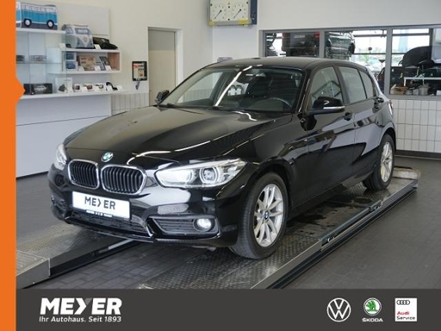 BMW 118i Advantage*Navi, LED, Klimaautomatik, Sitzhz, Jahr 2016, Benzin