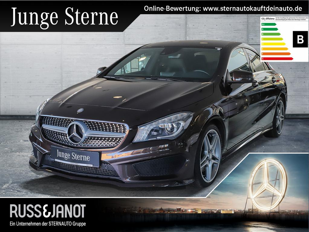 Mercedes-Benz CLA 250 Coupé AMG Kamera Spurh Bi-Xenon Navi, Jahr 2014, petrol