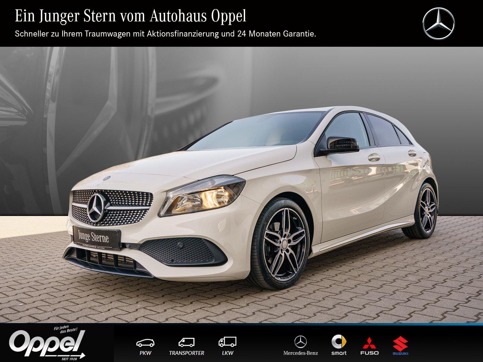 Mercedes-Benz A 160 AMG Tempomat+Klima+Isofix+Sportsitze+Sitzh, Jahr 2017, Benzin