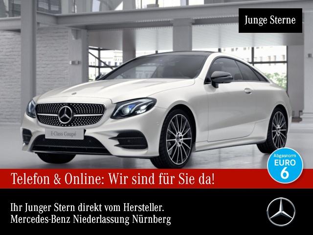 Mercedes-Benz E 220 d Cp. AMG 360° Stdhzg Pano Multibeam Distr+, Jahr 2017, Diesel