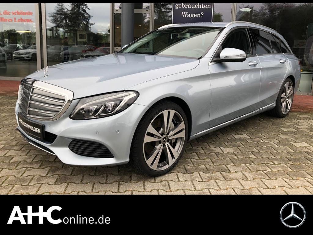 Mercedes-Benz C 400 T 4M Exclusive+Airmatic+Kamera+Navi+LED, Jahr 2018, Benzin