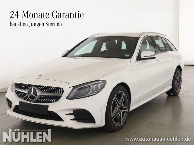 Mercedes-Benz C 180 T-Modell AMG Line Exterieur+Park-Assist+BC, Jahr 2020, Benzin