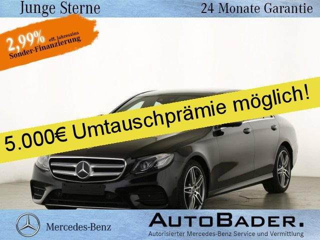 Mercedes-Benz E 450 4M AMG Comand FAP+ Multibeam PSD 360° WScr, Jahr 2019, Benzin