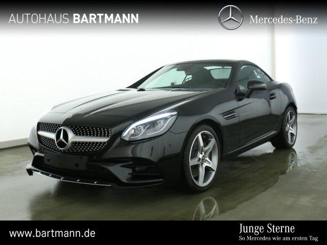 Mercedes-Benz SLC 180 AMG+LED-ILS+PTS+SZH +NAVI+AIRSCARF+9G+++, Jahr 2019, Benzin
