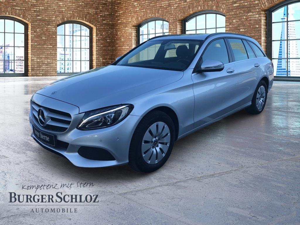 Mercedes-Benz C 200 d T-Modell LED/Navi/PDC/SHZ, Jahr 2018, Diesel