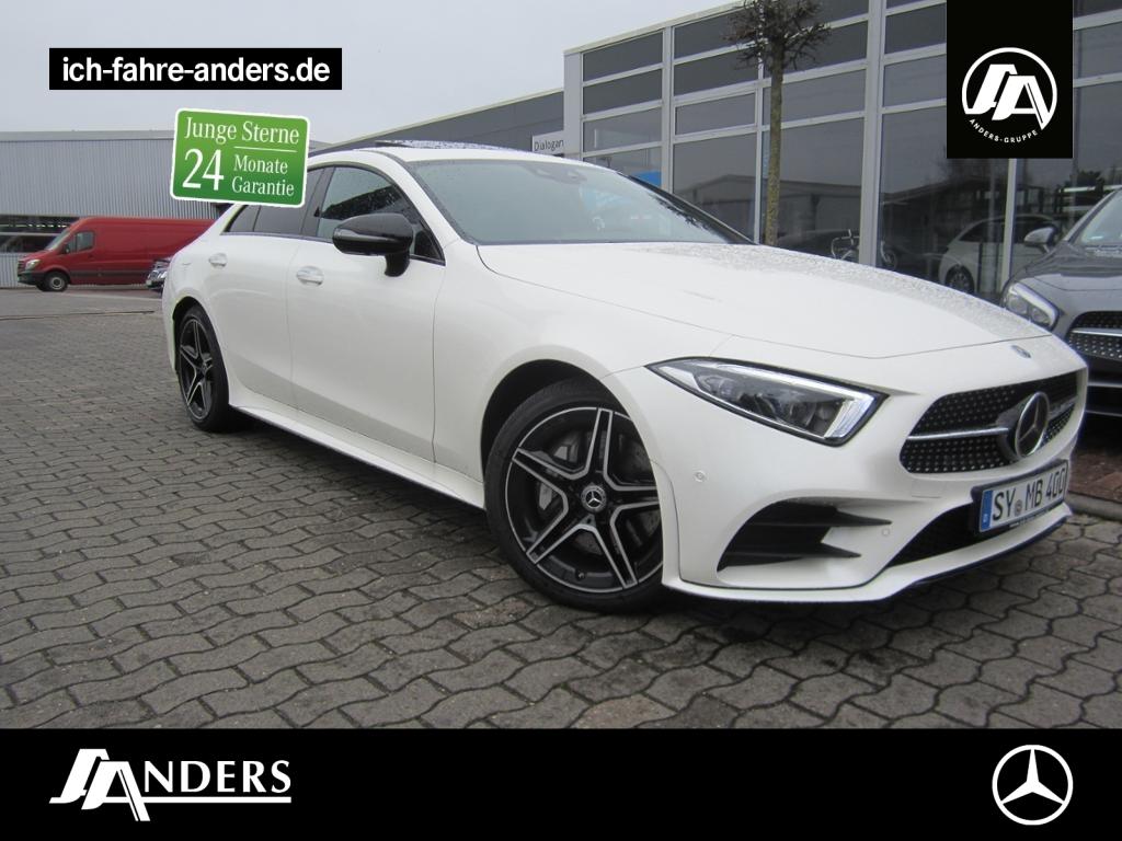 Mercedes-Benz CLS 400 d 4M AMG+Burm+Comand+Distr+SHD+Wide+360°, Jahr 2018, Diesel