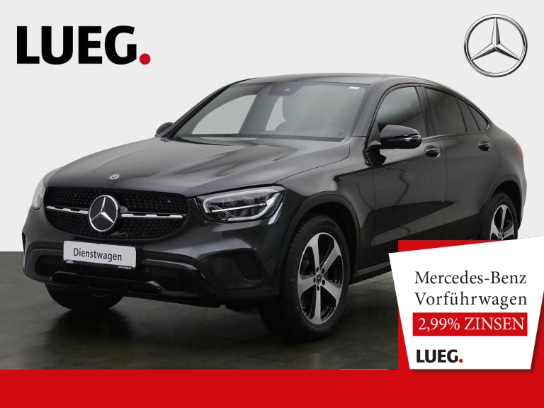 Mercedes-Benz GLC 200 4M Coupé NIGHT+EXCLUSIVE+STANDHZG.+TOTW., Jahr 2020, Benzin