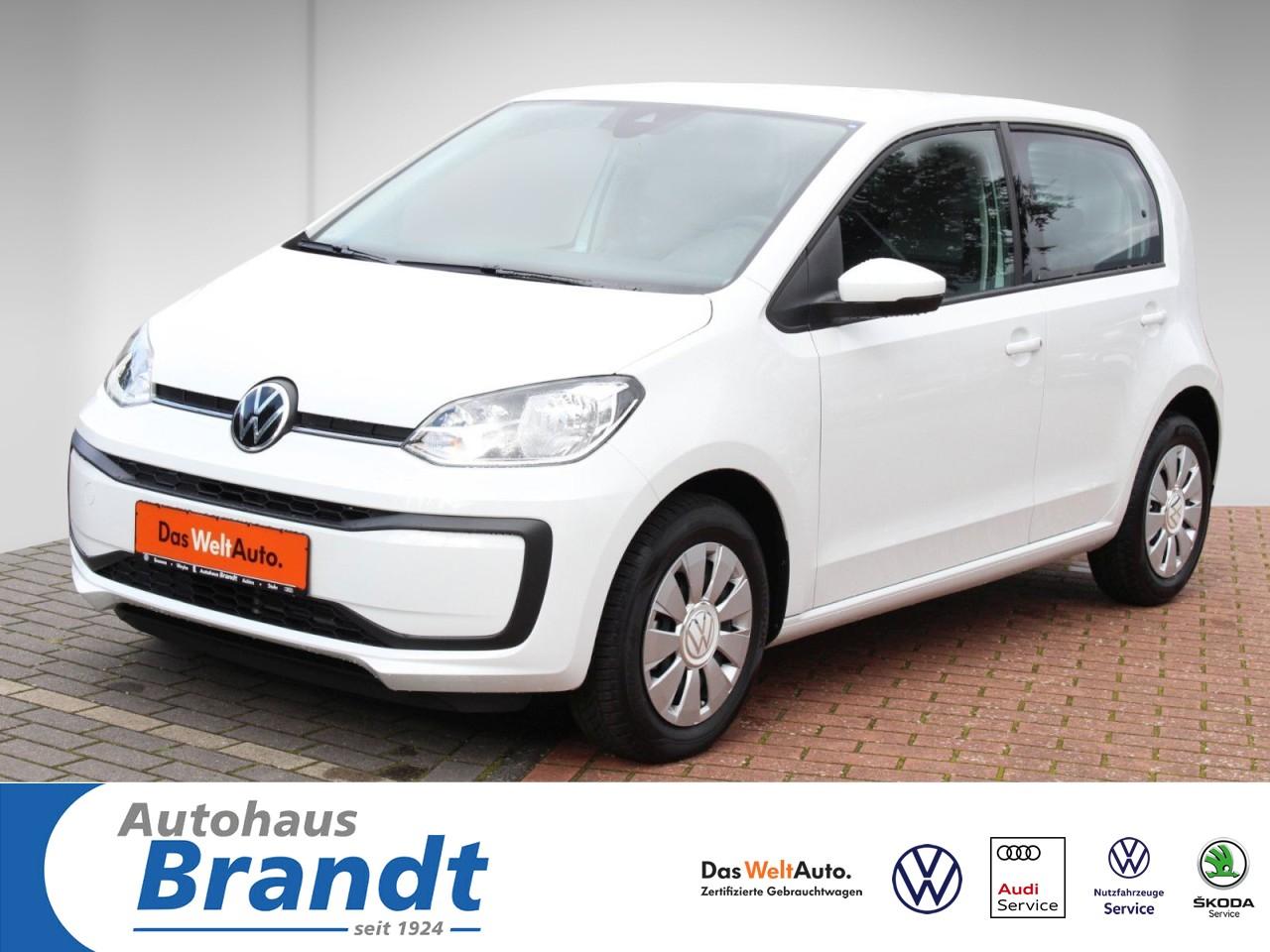 Volkswagen up! 1,0 KLIMA*ZV*TFL LED Klima Fenster el., Jahr 2020, Benzin