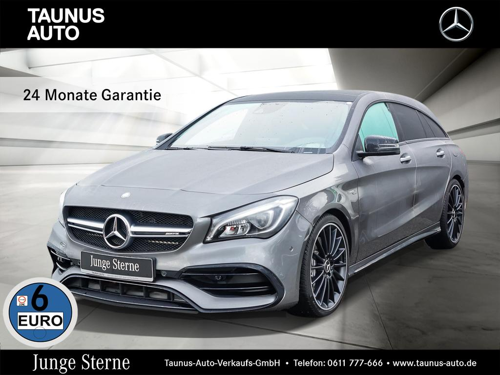 Mercedes-Benz CLA 45 AMG Shooting Brake COMAND PANO NIGHT EXCL, Jahr 2018, Benzin