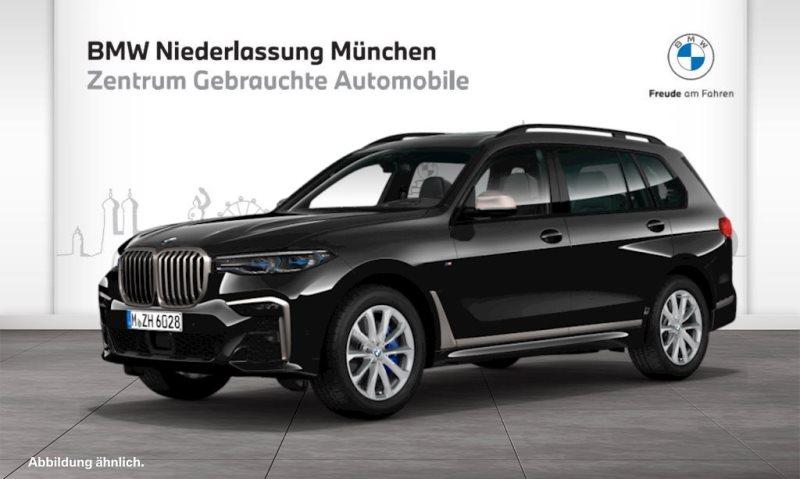 BMW X7 M50i Gestiksteuerung M Sportbr. Head-Up DAB, Jahr 2019, Benzin