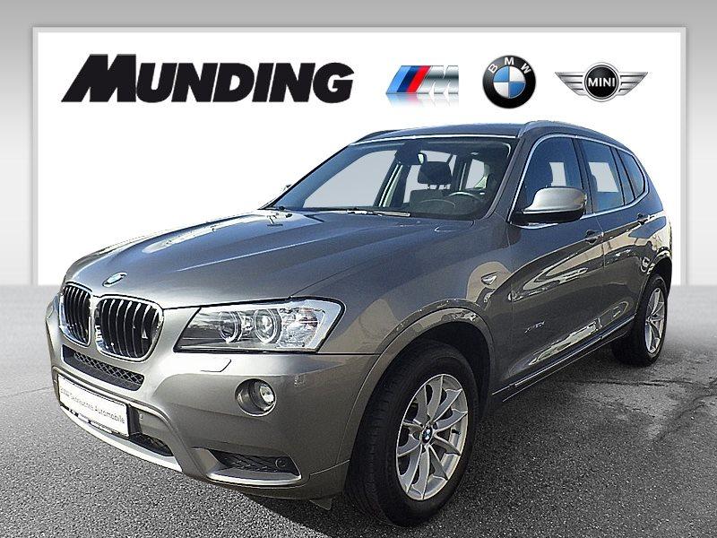 BMW X3 xDrive20d A Xenon|Navi|Komfortzg.|AHK|MFL|USB, Jahr 2012, Diesel