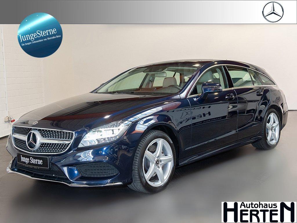 Mercedes-Benz CLS 400 4M SB,AMG-Line,Airmatic,Comand,AHK,360°K, Jahr 2016, Benzin