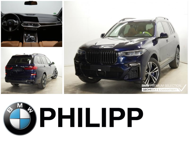 BMW X7 xDrive40d MSportpaket Laser St.Hz Sky h&k AHK, Jahr 2021, Diesel
