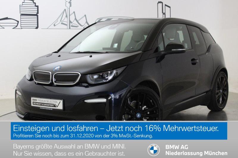 BMW i3 S 120 Ah HK HiFi DAB LED RFK Navi Prof. RTTI, Jahr 2019, Elektro