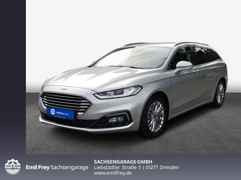 Ford Mondeo Turnier 2.0 EcoBl. Aut. Titanium Business II, Jahr 2020, Diesel
