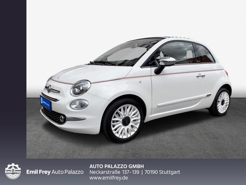 Fiat 500C 1.0 Hybrid Dolcevita 70PS, Jahr 2021, Benzin