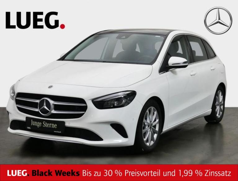Mercedes-Benz B 220 4M Progressive+MBUX+NavPrm+Pano+LED+Kamera, Jahr 2019, Benzin