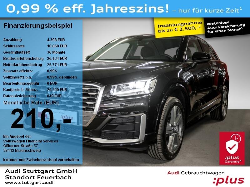 Audi Q2 Design 35 TFSI S tronic S Line AHK LED NAVI, Jahr 2020, Benzin